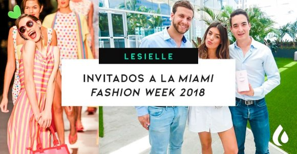 Lesielle presenta su nuevo dispositivo en la Miami Fashion Week 2018