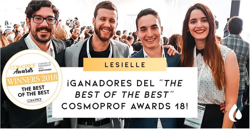 Ganador Cosmoprof Awards 2018