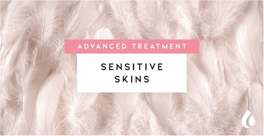 Advanced treatment for sensitive skins