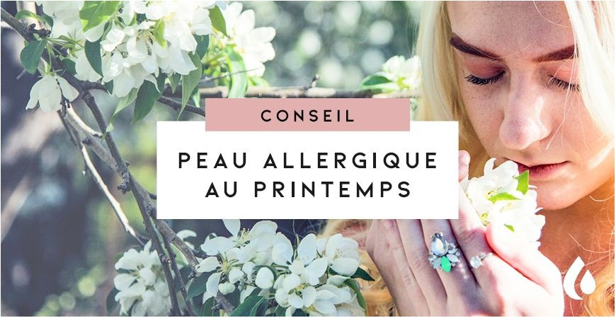 Peau Allergique Au Printemps