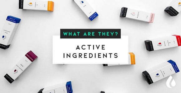 What are the main active ingredients in the skin care?
