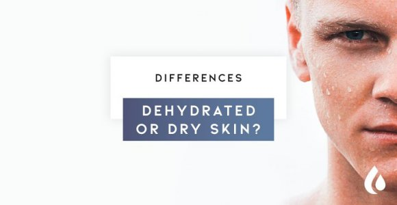 Differences between dehydrated and dry skin