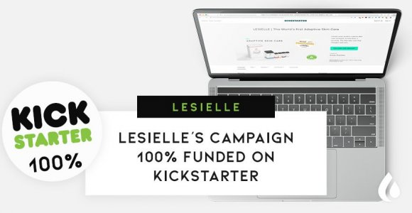 Lesielle's campaign 100% funded on Kickstarter