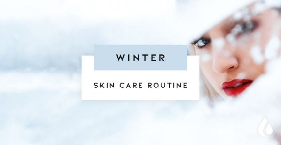 Routine face care for winter