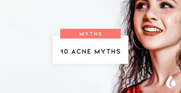 Top Ten Myths about Acne