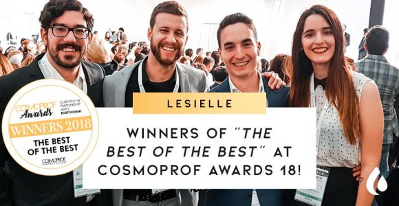 The Spanish startup Lesielle wins the Cosmoprof International Beauty Awards